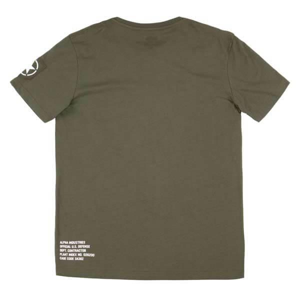 ad582fb07 ... Pánské tričko Alpha Industries Army T-Shirt Dark Olive ...