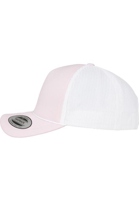 7d2451ea9fb ... Urban Classics Foam Trucker Cap Curved Visor wht pink pink ...