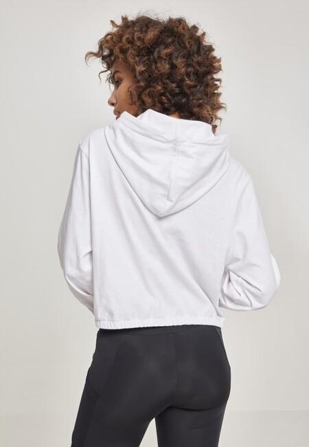 Urban Classics Ladies Heavy Jersey Batwing Hoody white