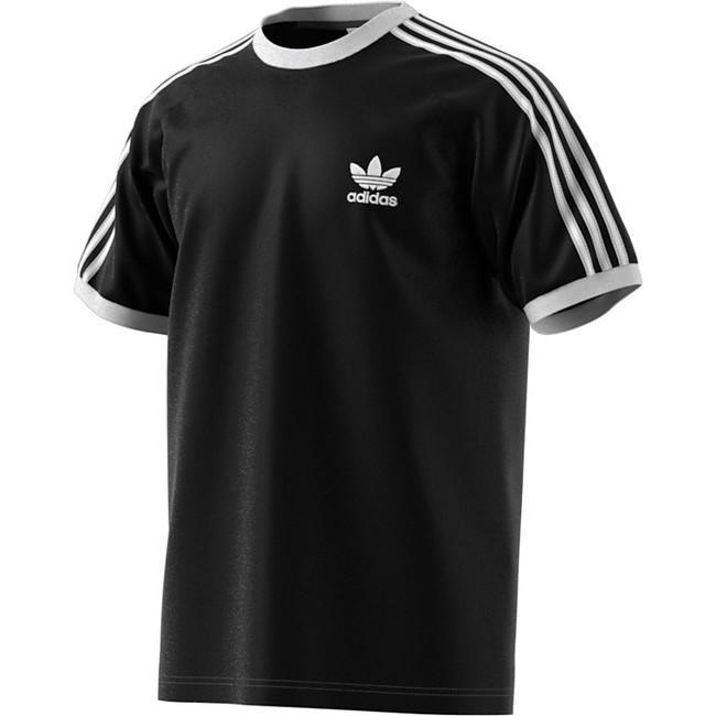 Panské triko Adidas 3-Stripes Tee Black