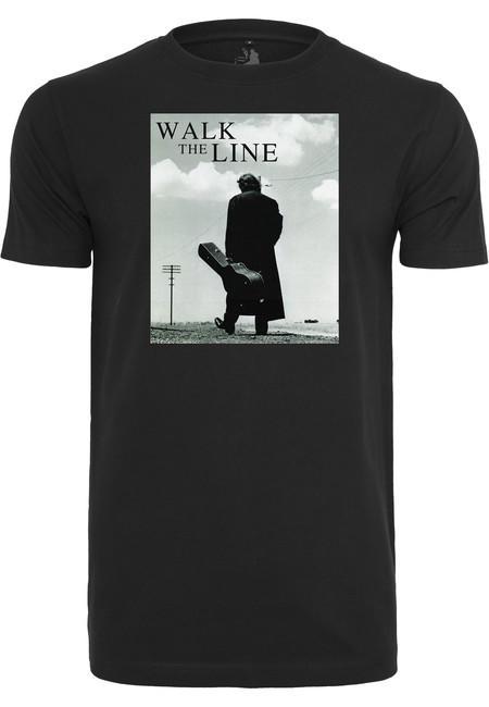 Mr. Tee Johnny Cash Walk The Line Tee black