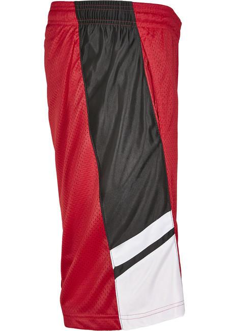 Urban Classics Basketball Mesh Shorts red