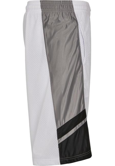 Urban Classics Basketball Mesh Shorts white