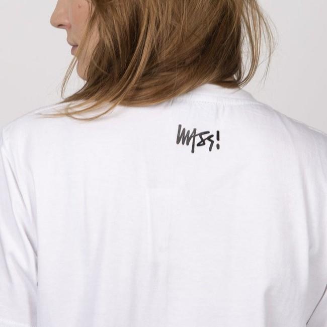 Mass Denim Classics Signature Medium Logo WMNS T-shirt white
