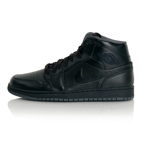 Air Jordan 1 Mid Black Grey 554724-021 - 41 - 8 - 7 - 26 cm