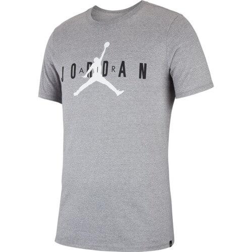Pánské tričko Air Jordan Brand 5 T-shirt Grey - 3XL