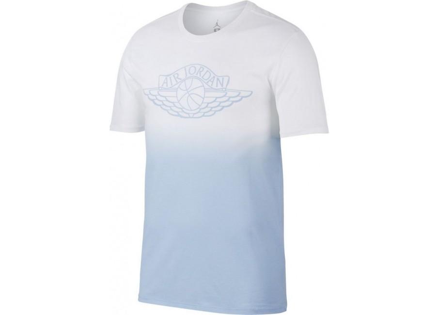 b8b259fae8d Pánské tričko Air Jordan Fadeaway Faded White Blue 843138-100 - 2XL