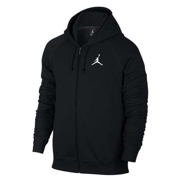 Air Jordan Flight Fleece FZ Mikina na zip Černá - 2XL