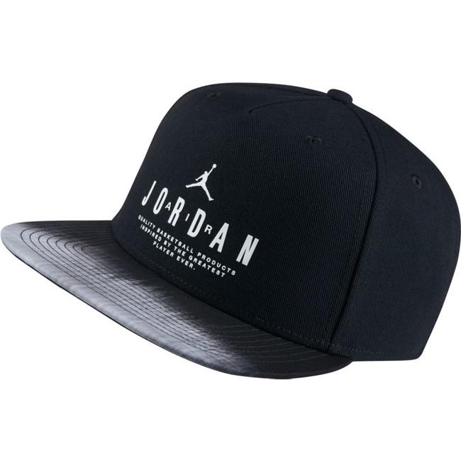 Kšiltovka Air Jordan Modern Heritage Snapback Black White - UNI