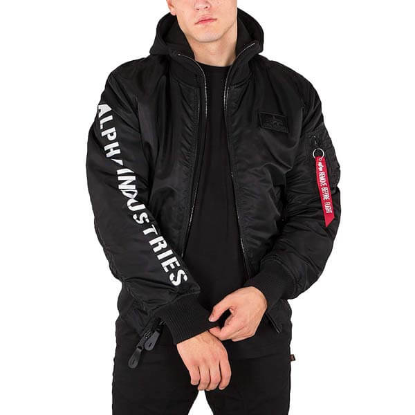 Bunda Alpha Industries MA-1 D-Tec SE Jacket Black - 2XL 99eeb178007