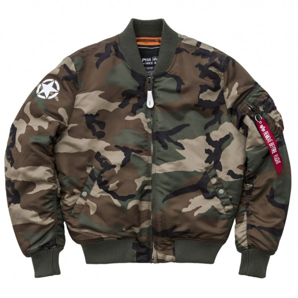Alpha Industries MA-1 VF Army Wdl Camo - M