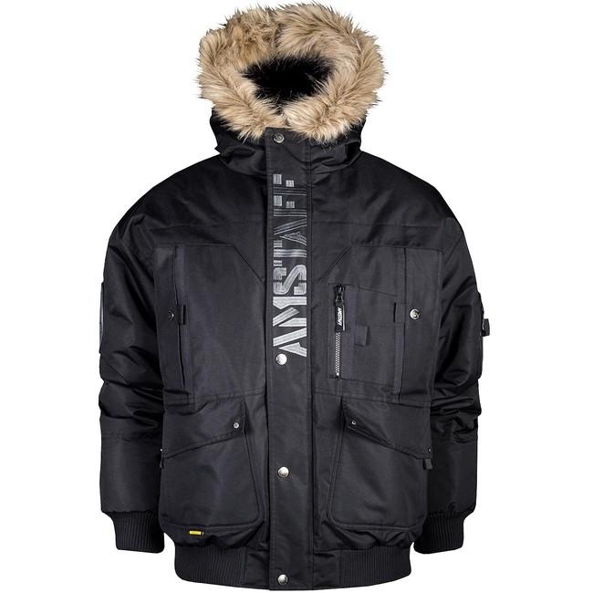 Zimní Bunda Amstaff Aton Winterjacket - M