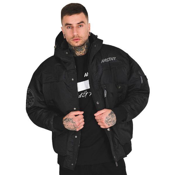 Zimní Bunda Amstaff Conex Winterjacke 2.0 - schwarz