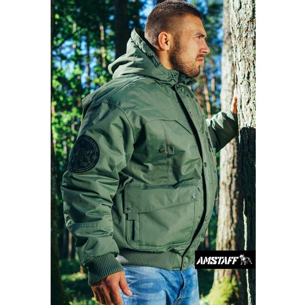 Zimní Bunda Amstaff Conex Winterjacket Olive - S