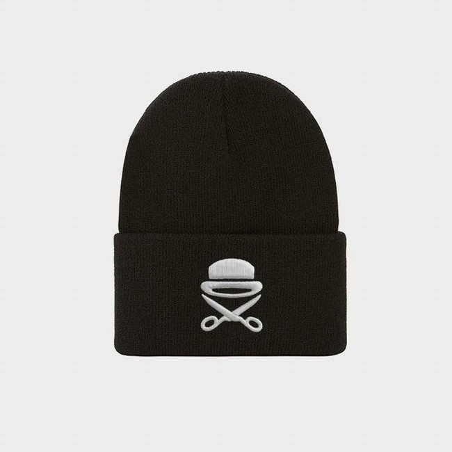 Cayler & Sons PA Icon Old School Beanie black/white