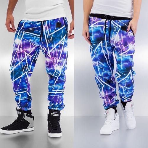 Dangerous DNGRS Galaxy II Sweat Pants Blue/Purple - S