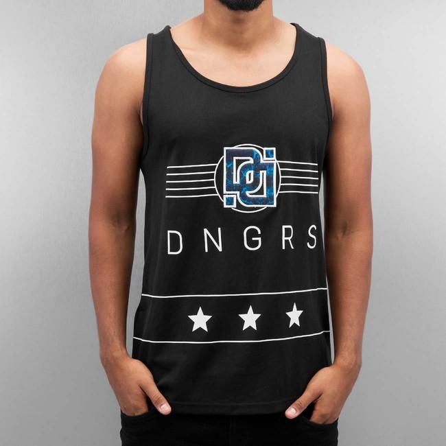Dangerous DNGRS Star Tank Top Black - S