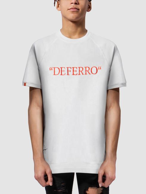 De Ferro / T-Shirt Deferro Piece in white - S