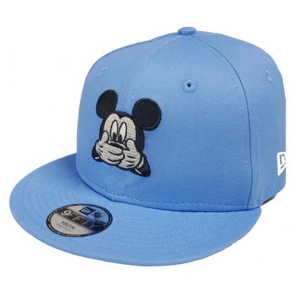 DĚTSKÁ New Era 9Fifty Youth Mickey Mouse Disney Exression Sky Blue - UNI