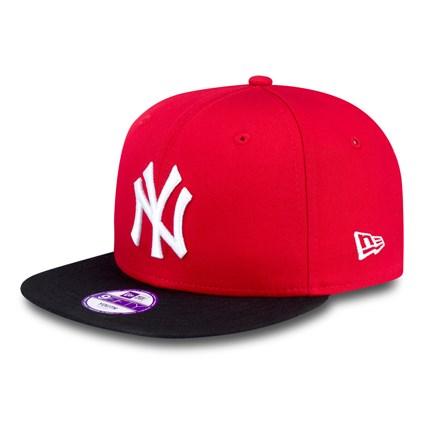 DĚTSKÁ NEW ERA 9FIFTY YOUTH MLB BASIC NEW YORK YANKEES CAP RED