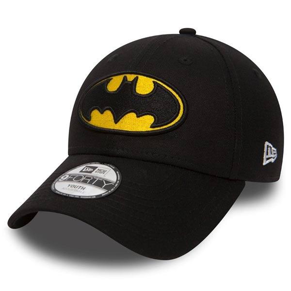Dětská kšiltovka New Era 9Forty Child Essential Batman Black Yellow - UNI
