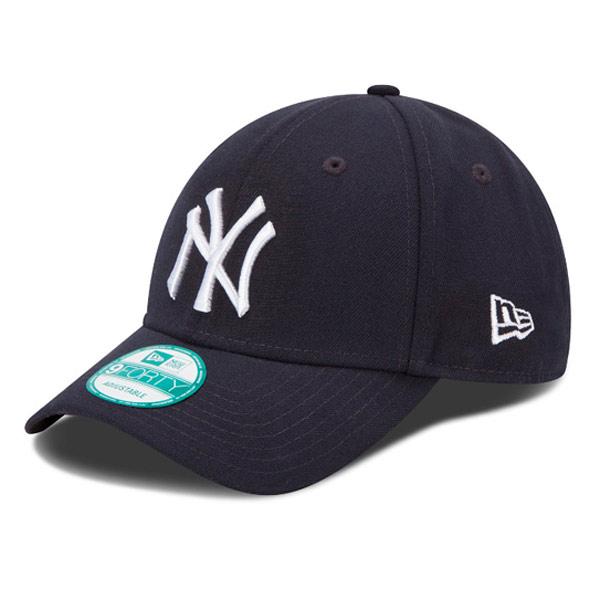 DĚTSKÁ NEW ERA 9FORTY CHILD MLB LEAGUE BASIC NEW YORK YANKEES NAVY WHITE - UNI