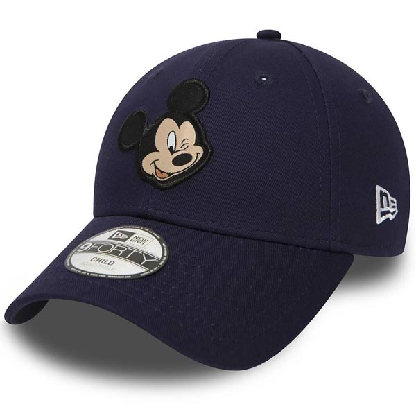 Dětská kšiltovka New Era 9Forty Youth Disney Patch Mickey Mouse Navy