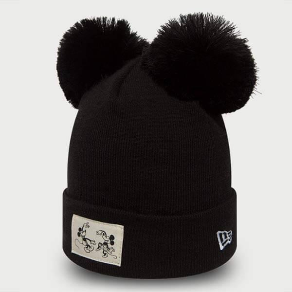 Dětský kulich New Era Youth Disney Cuff Minnie Mouse Knit Black