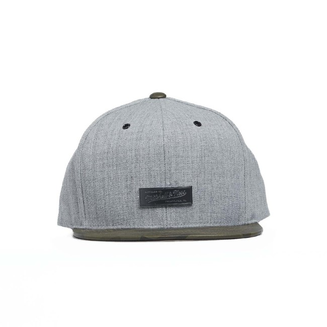 Mitchell & Ness Own Brand Snapback Cap grey/camo Lux Camo Snapback