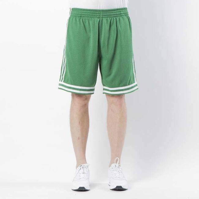 Mitchell & Ness shorts Boston Celtics 1985 - 86 green Swingman Shorts - L