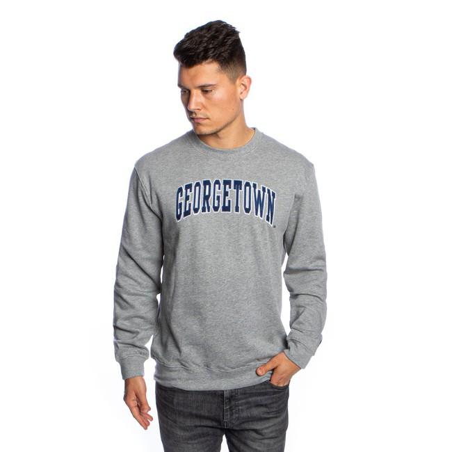 Mitchell & Ness sweatshirt Georgetown Hoyas grey NCAA Arch Crew