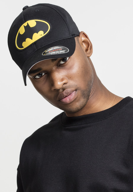 Mr. Tee Batman Flexfit Cap blk/blk - XXL