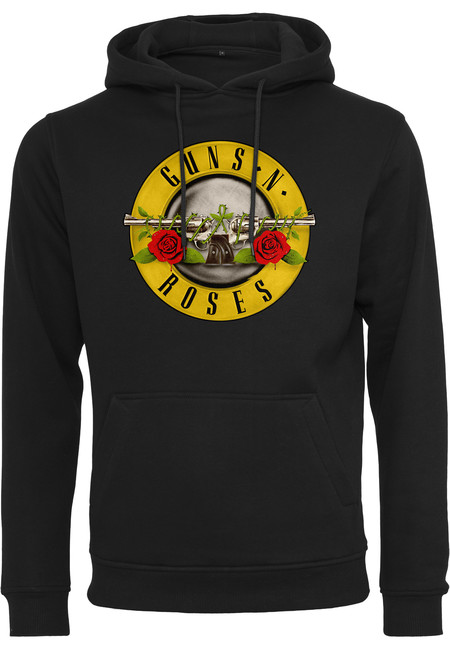Mr. Tee Guns n' Roses Logo Hoody black - XS
