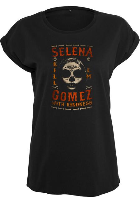 Mr. Tee Ladies Selena Gomez Black Gloves Tee black - XS