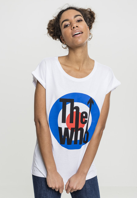 Mr. Tee Ladies The Who Classic Target white