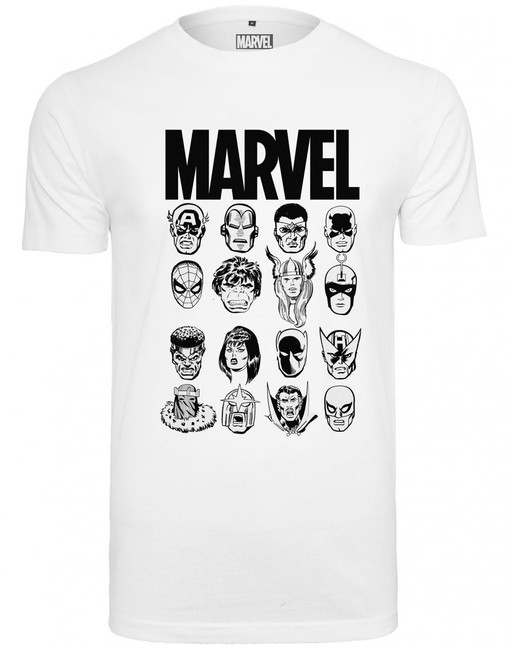 Mr. Tee Marvel Crew Tee white