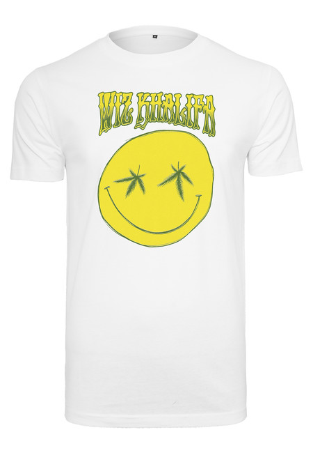 Mr. Tee Wiz Khalifa Smile Tee white - XS