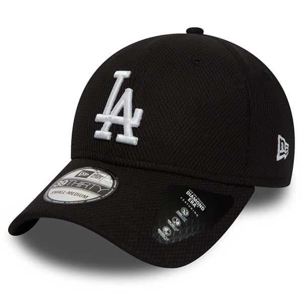 New Era 39thirty MLB Diamond Era LA Dodgers Black