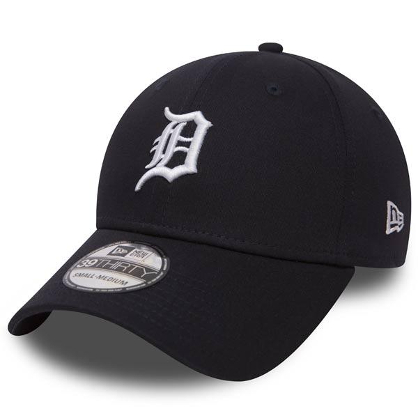 Kšiltovka New Era 39thirty MLB League Basic Detroit Tigers Navy White