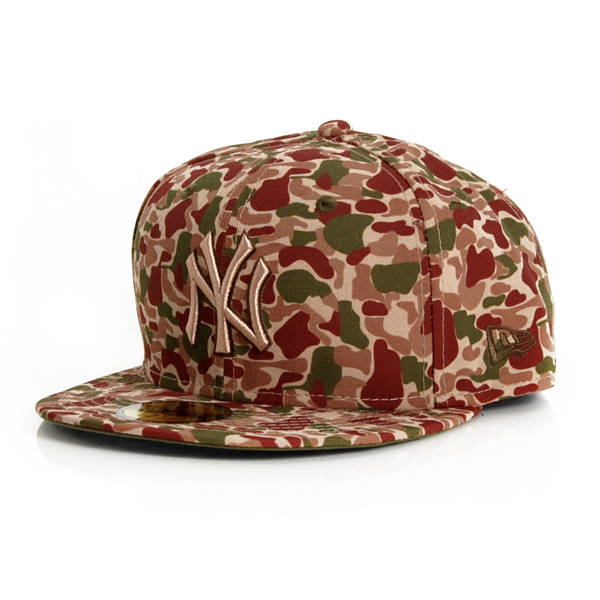 New Era 59Fifty Bubble Camo NY Yankees Camo Original - 7