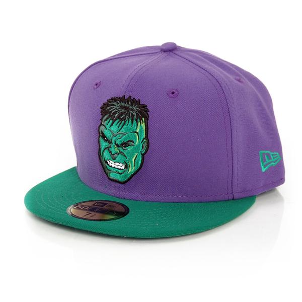 New Era 59Fifty Rever Hero Hulk Cap - 7 1/8