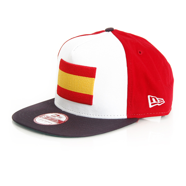 New Era 9Fifty Flag Front Orig Spain - S–M