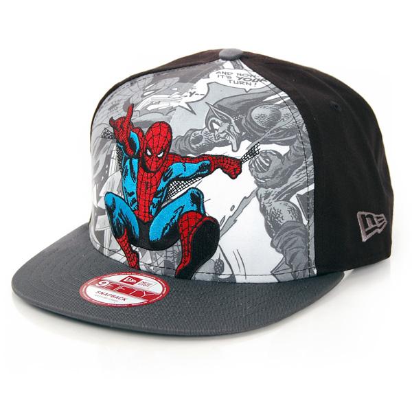 New Era 9Fifty Hero Break Spiderman Cap - S–M