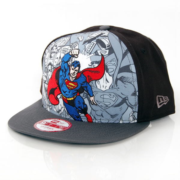 New Era 9Fifty Hero Break Superman Cap - S–M