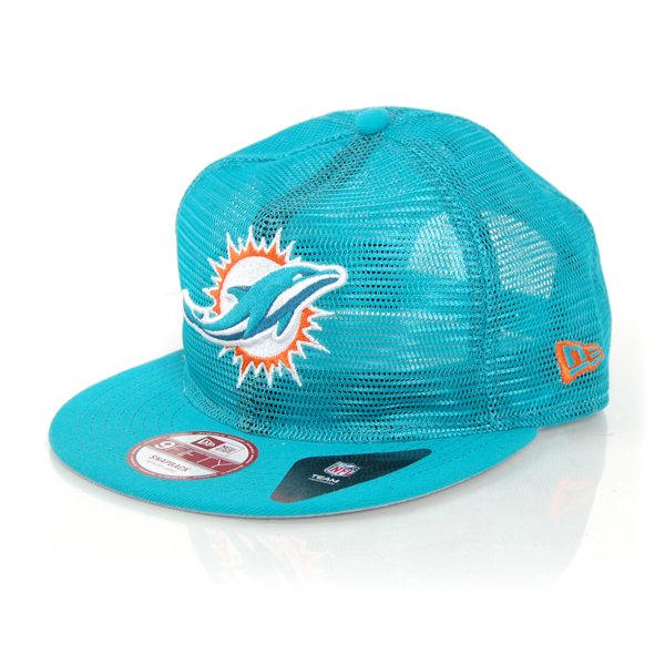 New Era 9Fifty Mesd Over Miami Dolphins Team Cap - M–L