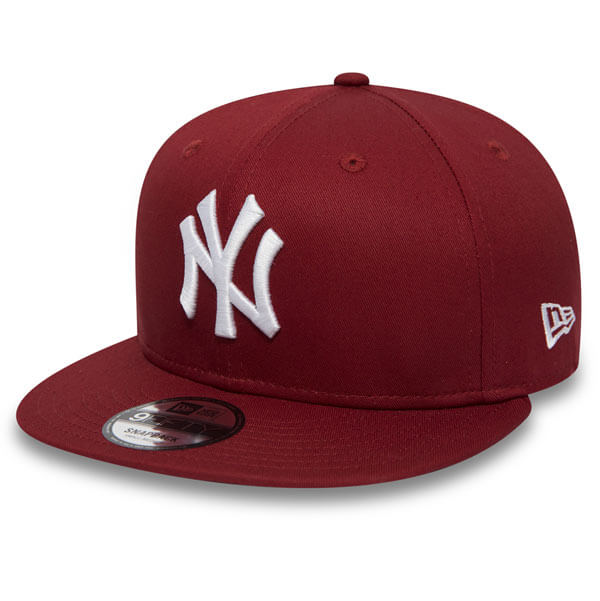 Kšiltovka New Era 9Fifty MLB League Esential NY Yankees Snapback Hot Red -  S M 265159c5d6