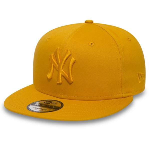 Kšiltovka New Era 9Fifty MLB League Esential NY Yankees Yellow