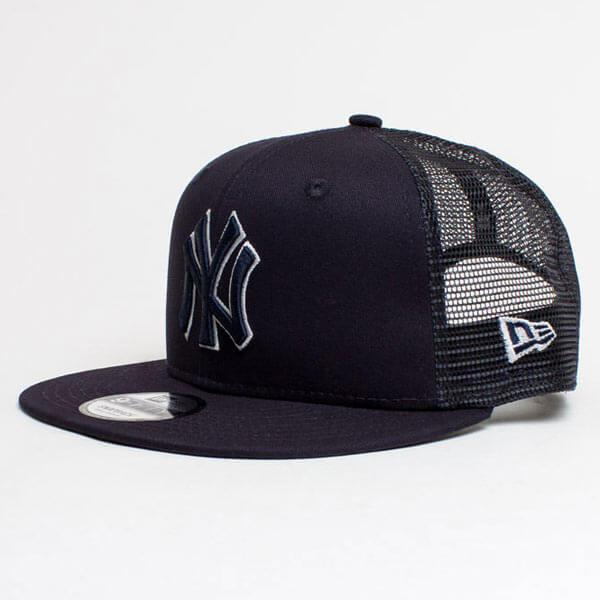 Kšiltovka New Era 9Fifty MLB League Essential Trucker Cap NY Yankees Navy