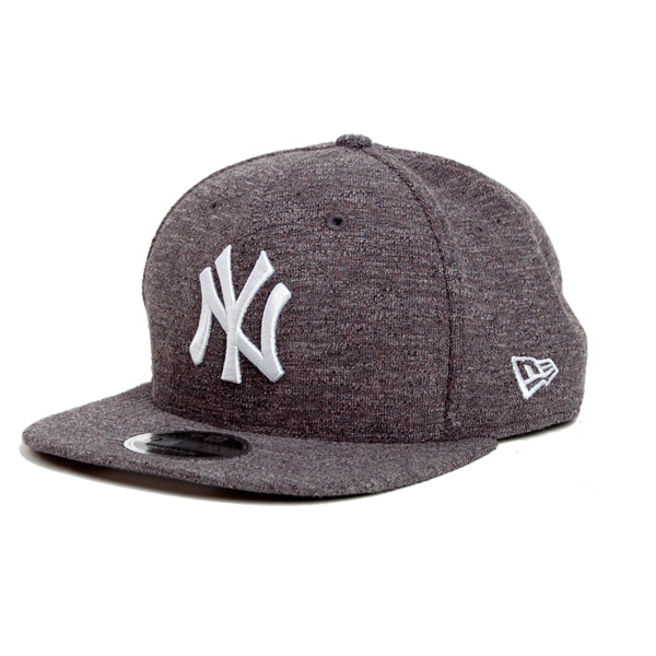 Kšiltovka New Era 9Fifty Snapback Slub NY Yankees Gray White - S/M