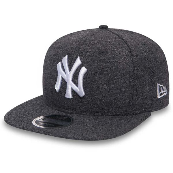 Kšiltovka New Era 9Fifty Snapback Slub NY Yankees Gray White - S/M
